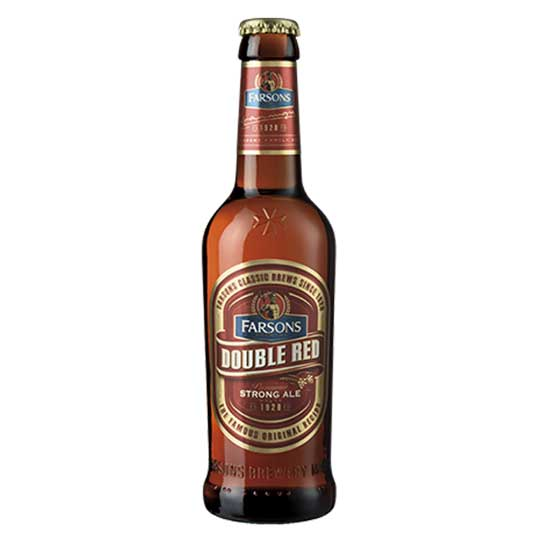 Farsons double red - strong ale